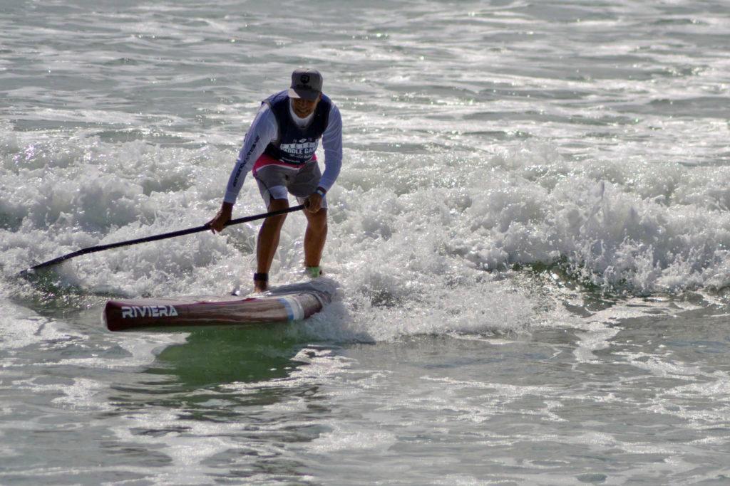 Luigi Reghitto in azione