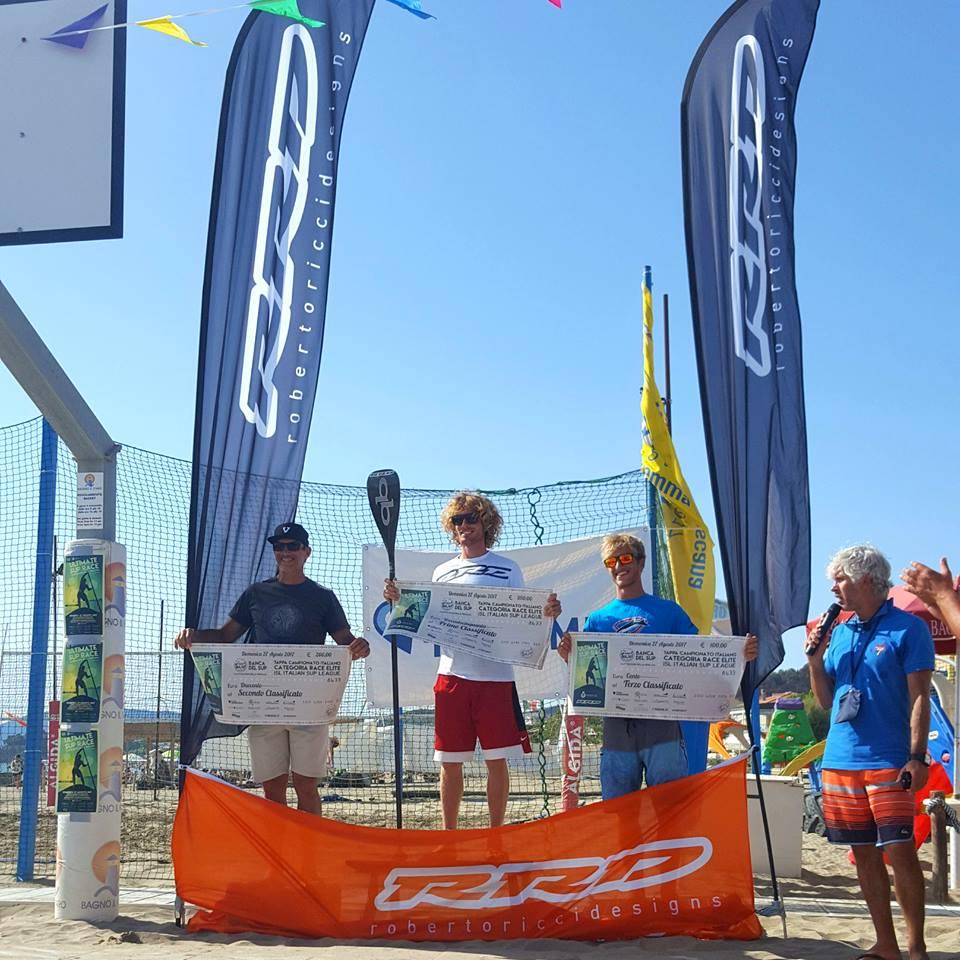 Podio categoria Elite 14: 1. Paolo Marconi, 2. Fabrizio Gasbarro, 3. Filippo Mingrelli