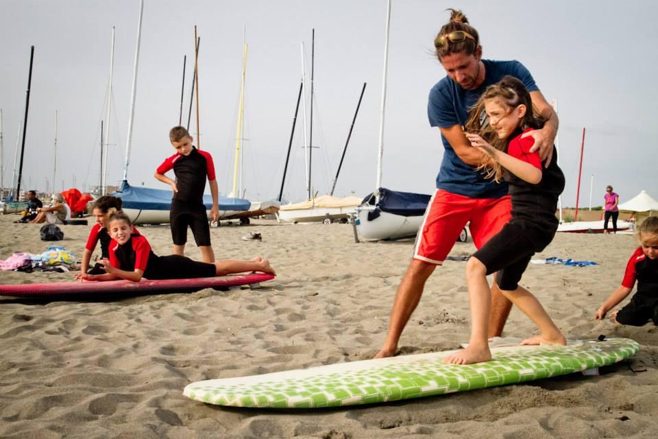 Esercizi a terra surf