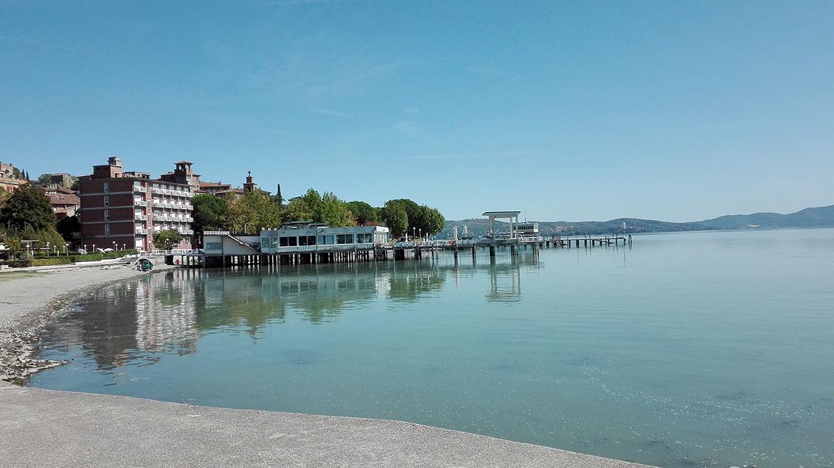 Spiaggetta a Passignano