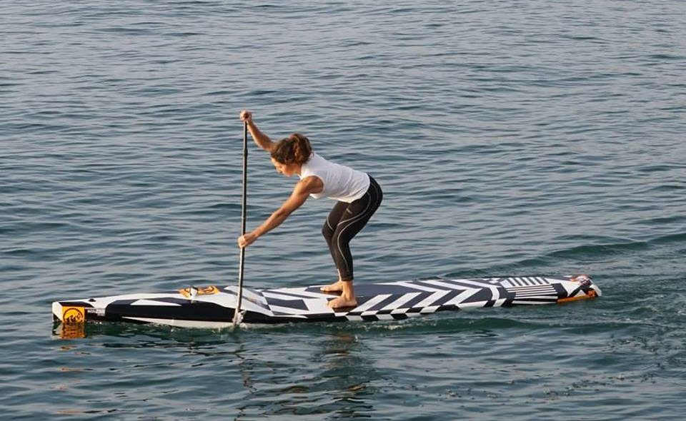 Caterina Stenta - Long Distance- Technical Race – SUP Surf