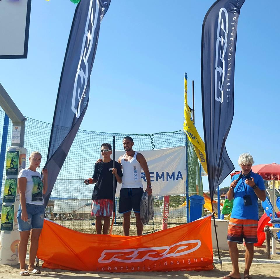 Amatoriale 11.6 uomini: 1. Paolo Broetto, 2. Adriano Marrocchino