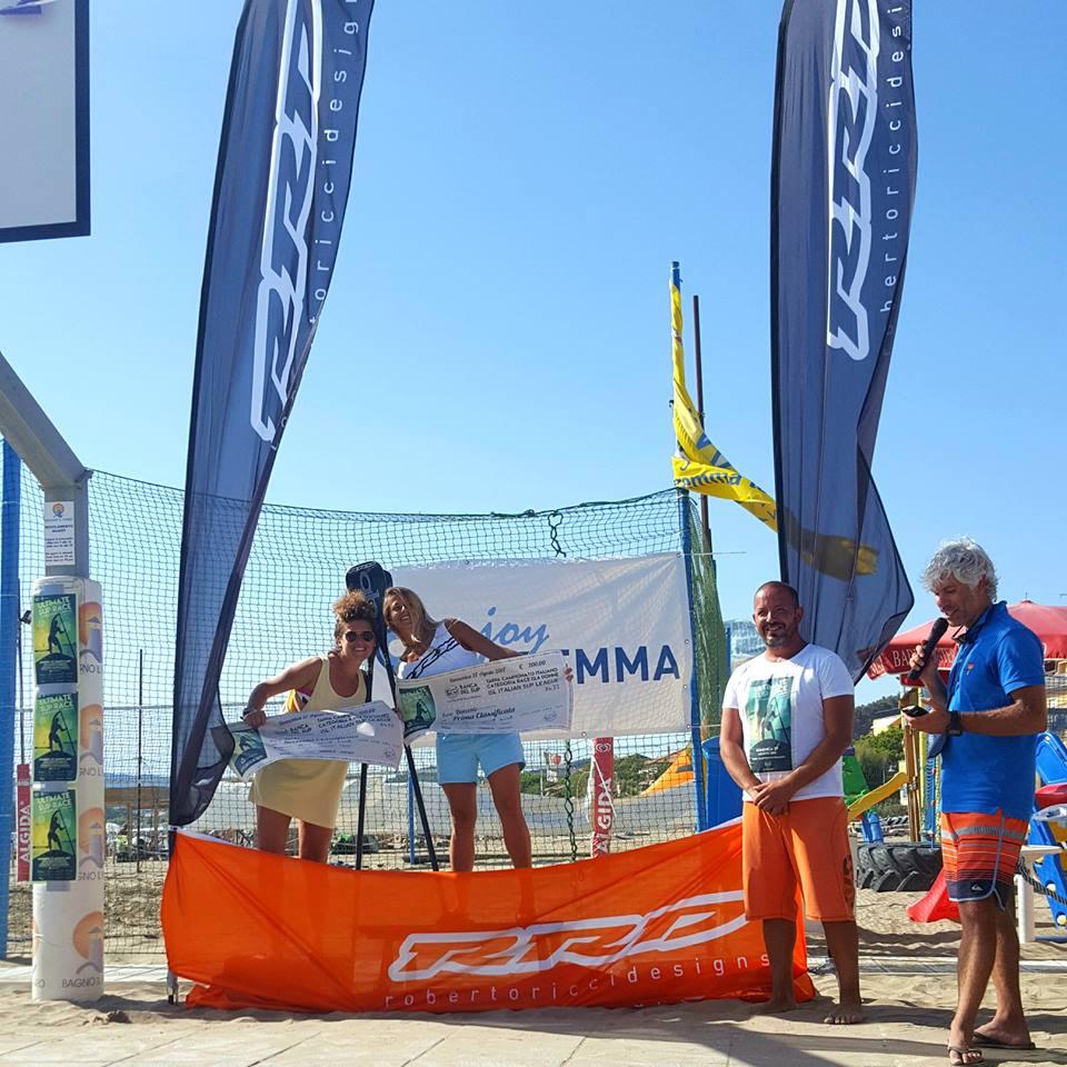 Categoria race 12.6 donne: 1. Susak Molinero, 2. Annalisa Bizzarri
