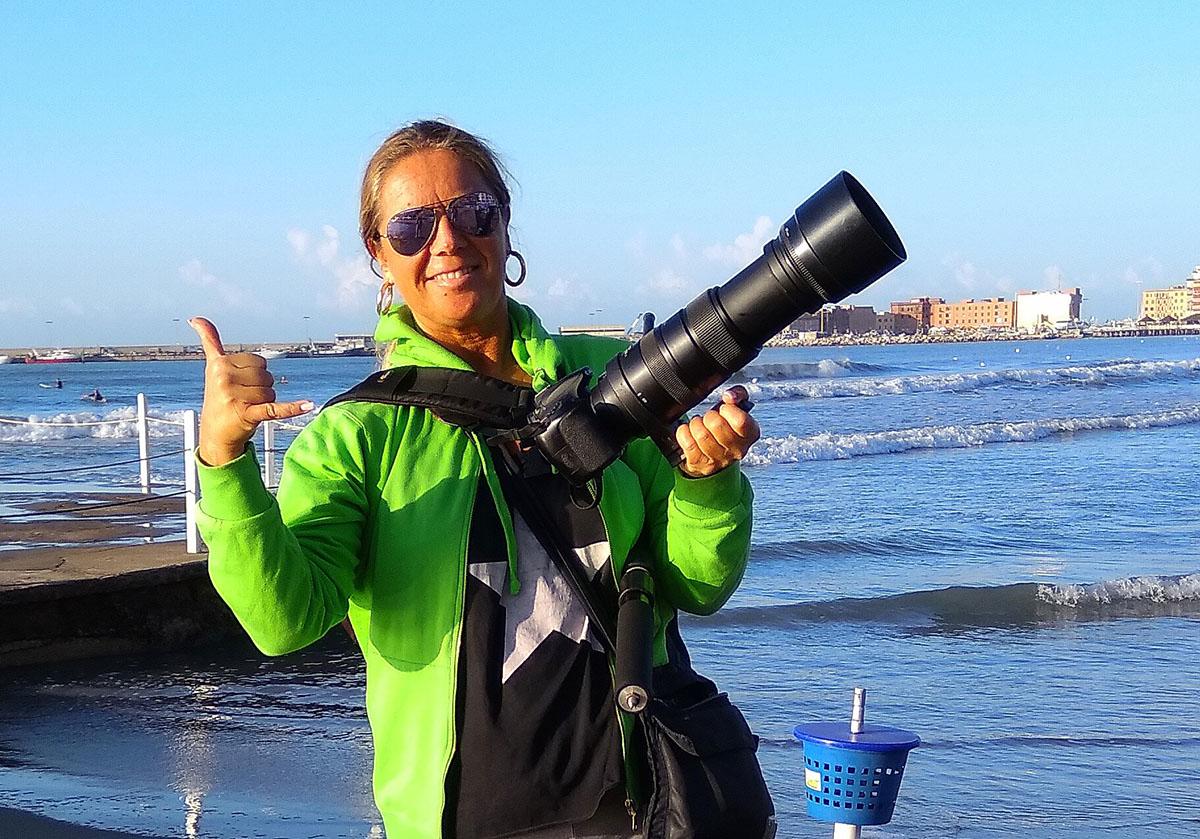Corrispondente di guerra Silvia...