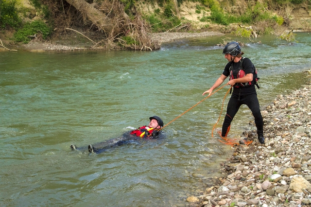 Recupero in fiume