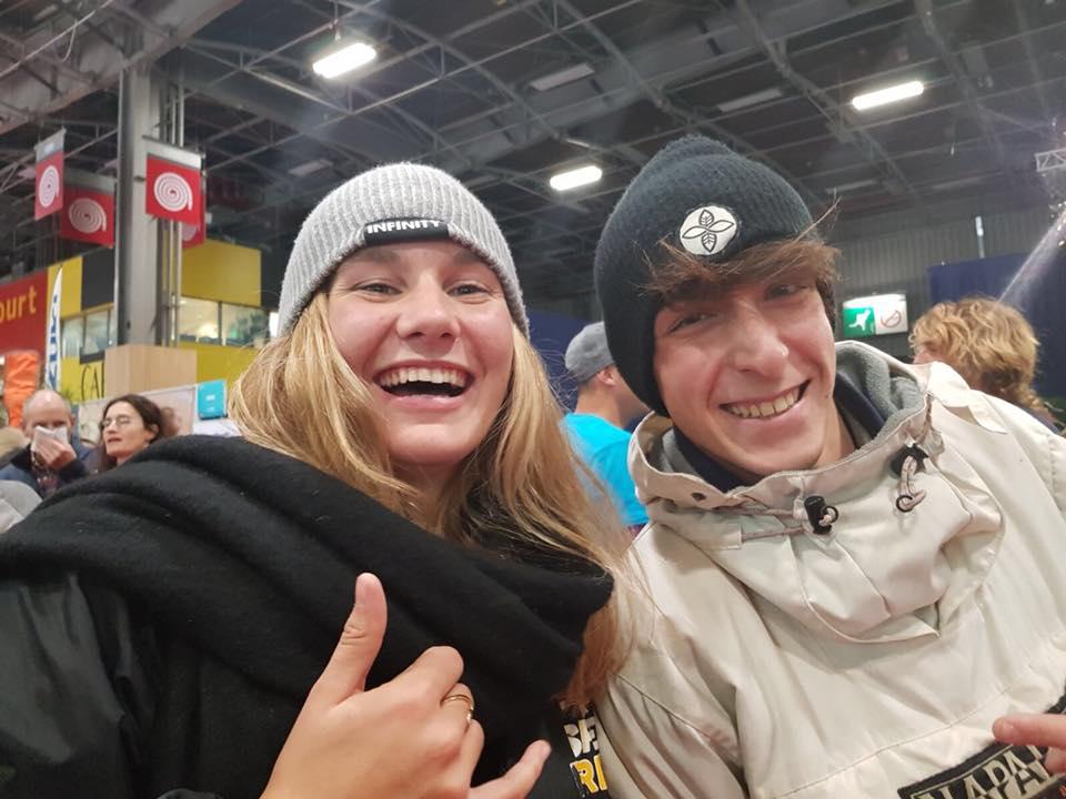 Due giovani suppisti di belle speranze: Riccardo Rossi e Melanie Lafenetre, entrambi vincitori della classifica Junior...