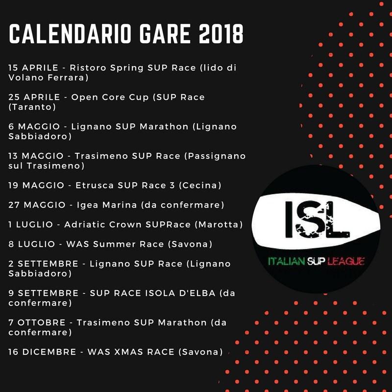 calendario-gare-ISL-2k18